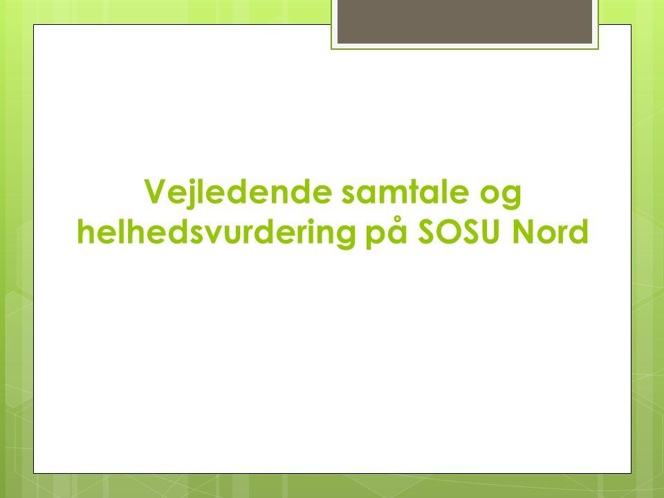 Vejledende samtale og helhedsvurdering på SOSU Nord