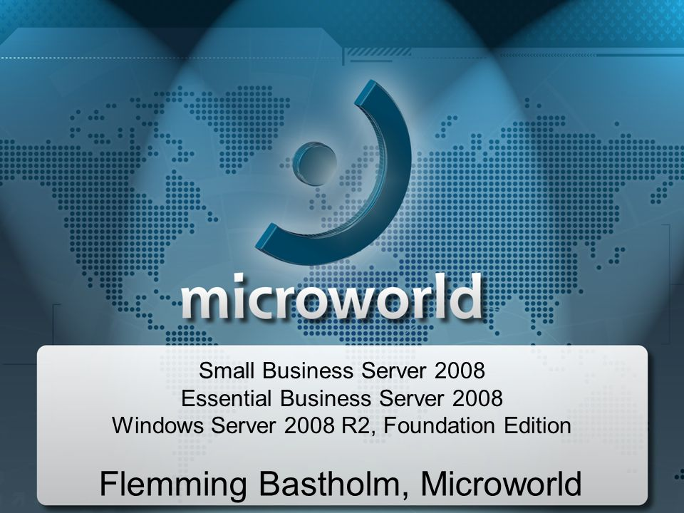 Flemming Bastholm, Microworld