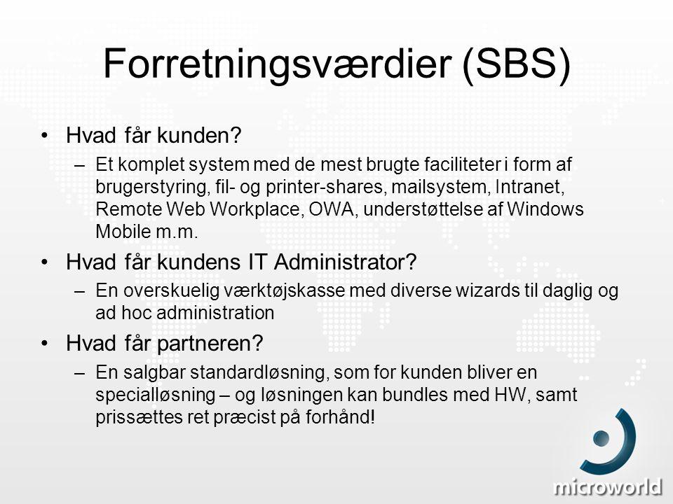 Forretningsværdier (SBS)