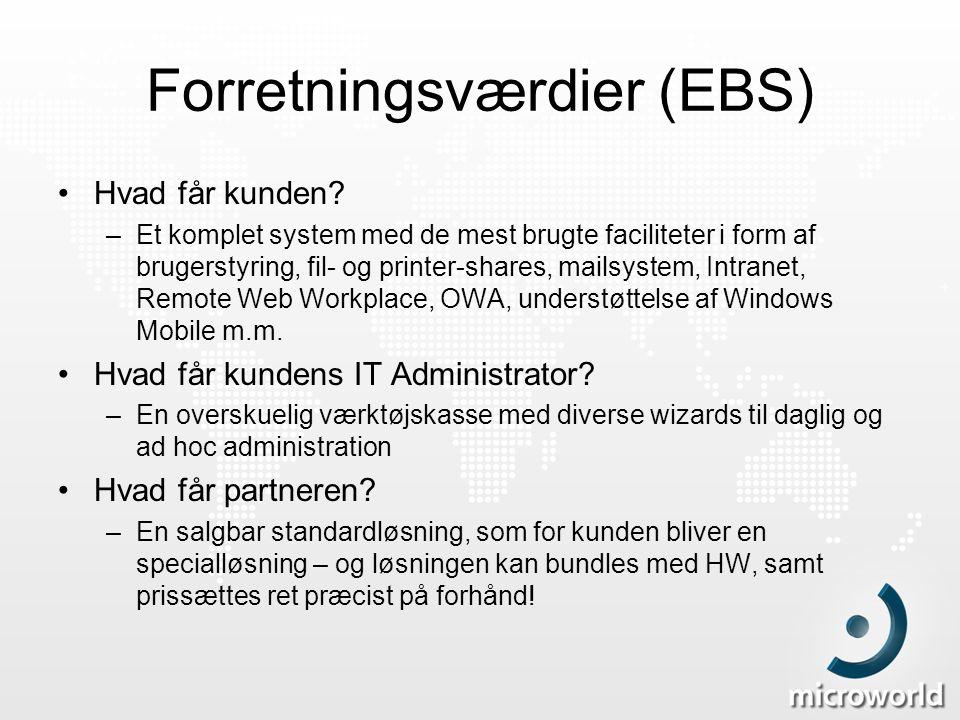 Forretningsværdier (EBS)