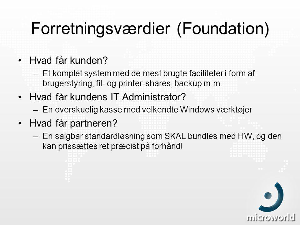 Forretningsværdier (Foundation)