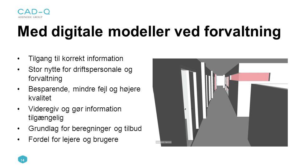Med digitale modeller ved forvaltning