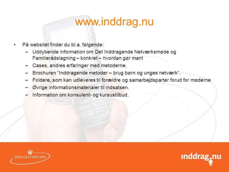 www.inddrag.nu På websitet finder du bl.a. følgende: