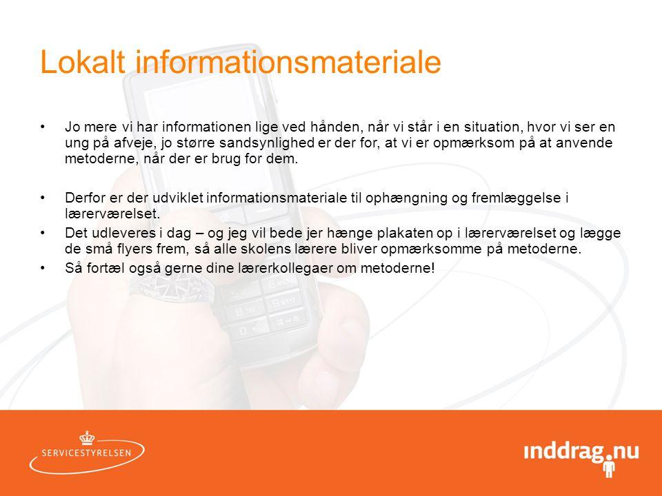 Lokalt informationsmateriale