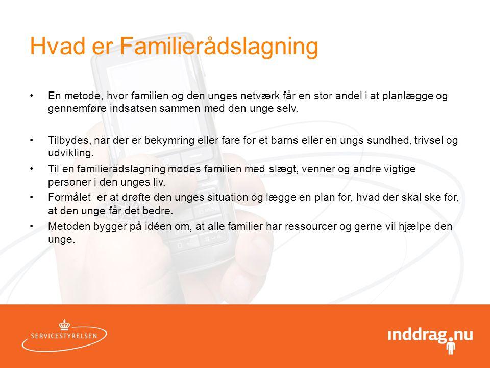 Hvad er Familierådslagning