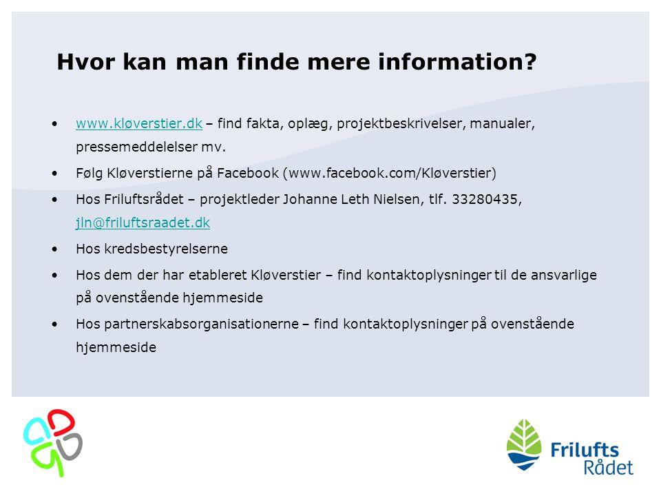 Hvor kan man finde mere information