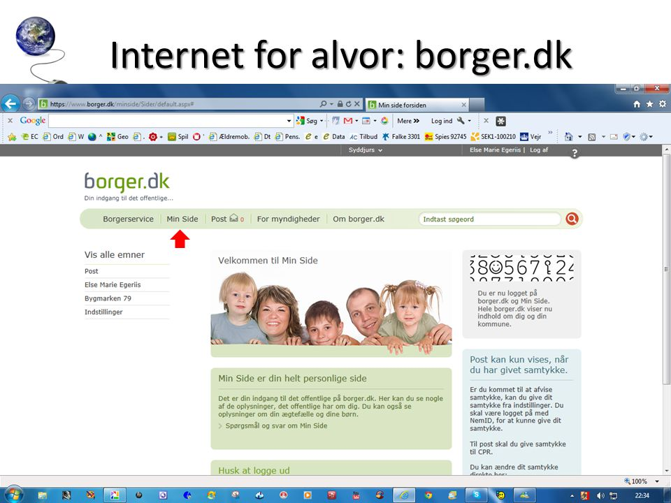 Internet for alvor: borger.dk