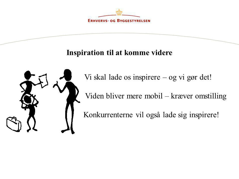 Inspiration til at komme videre