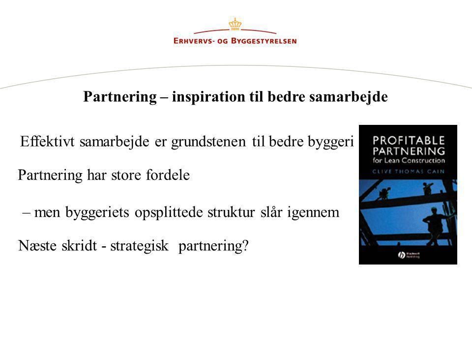 Partnering – inspiration til bedre samarbejde