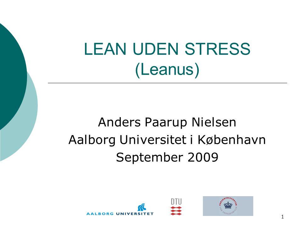 LEAN UDEN STRESS (Leanus)