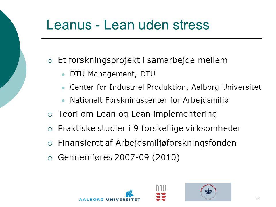 Leanus - Lean uden stress