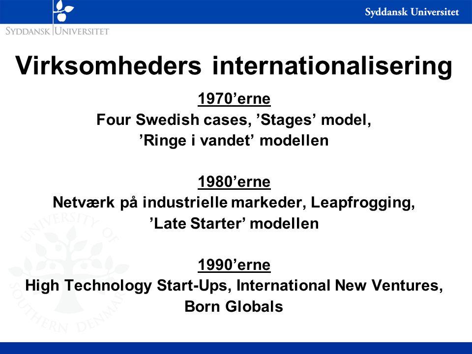 Virksomheders internationalisering