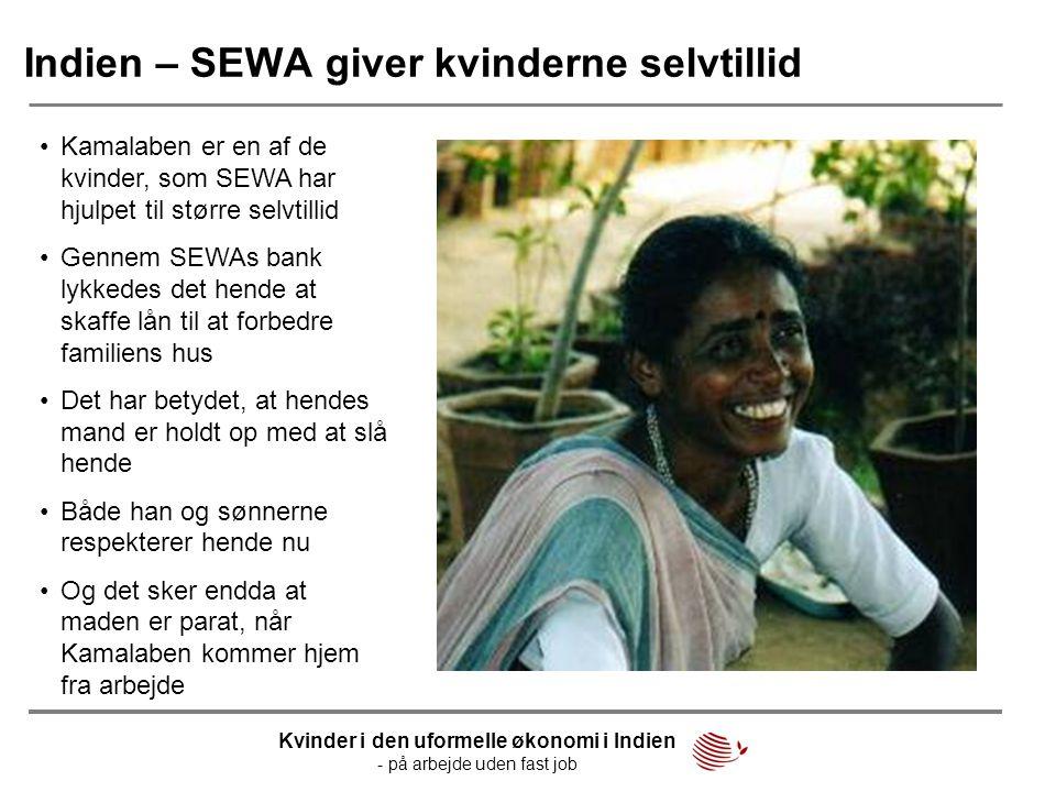 Indien – SEWA giver kvinderne selvtillid