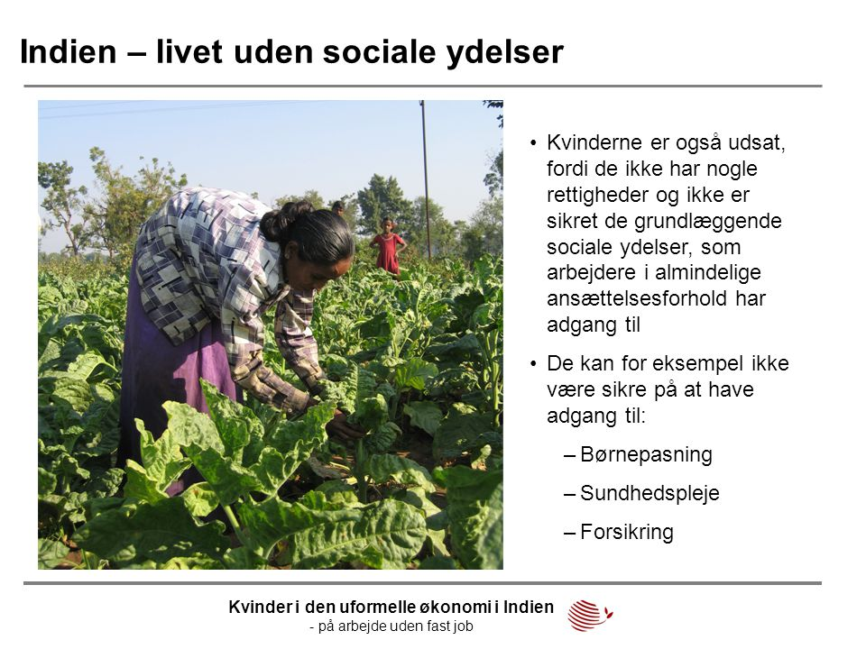Indien – livet uden sociale ydelser