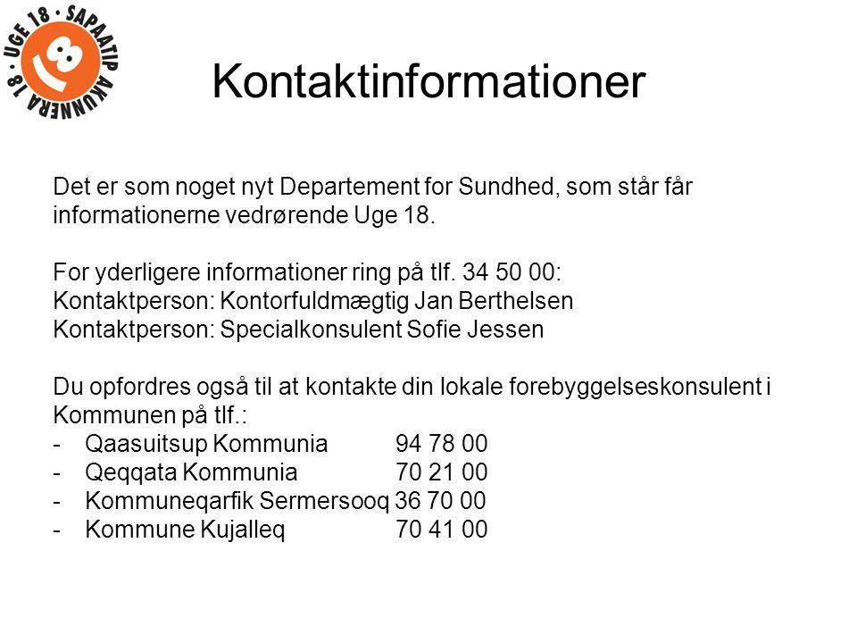 Kontaktinformationer