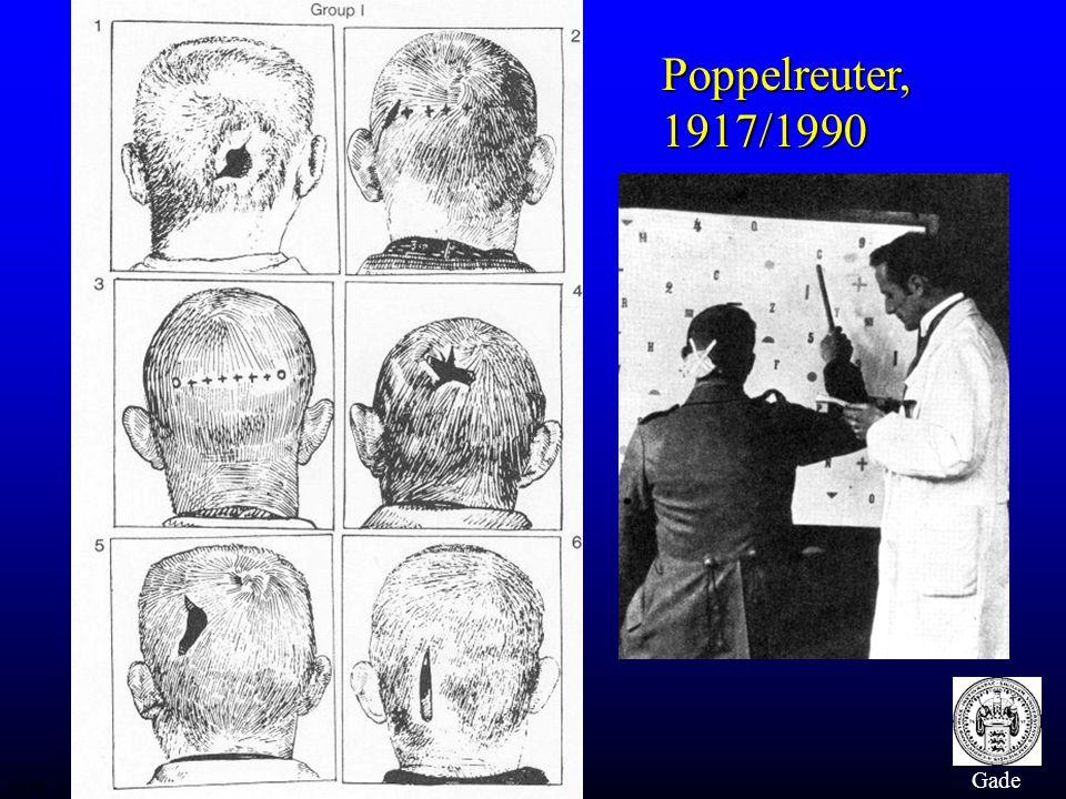 Poppelreuter, 1917/1990 Gade hu/RH