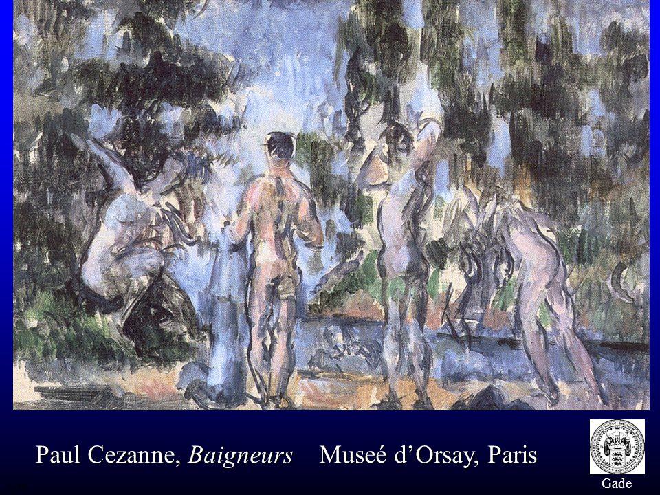 Paul Cezanne, Baigneurs Museé d'Orsay, Paris