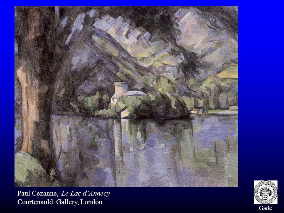 Paul Cezanne, Le Lac d'Annecy Courtenauld Gallery, London