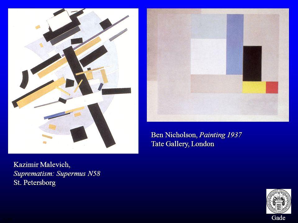 Ben Nicholson, Painting 1937 Tate Gallery, London