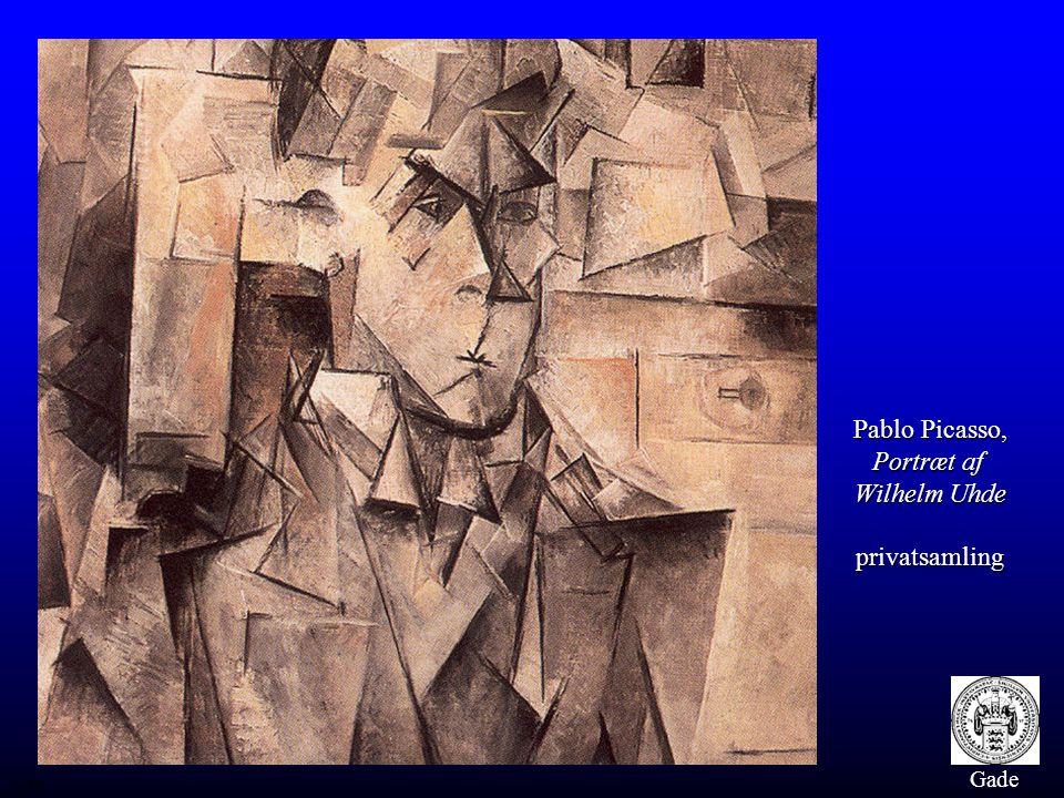 Pablo Picasso, Portræt af Wilhelm Uhde