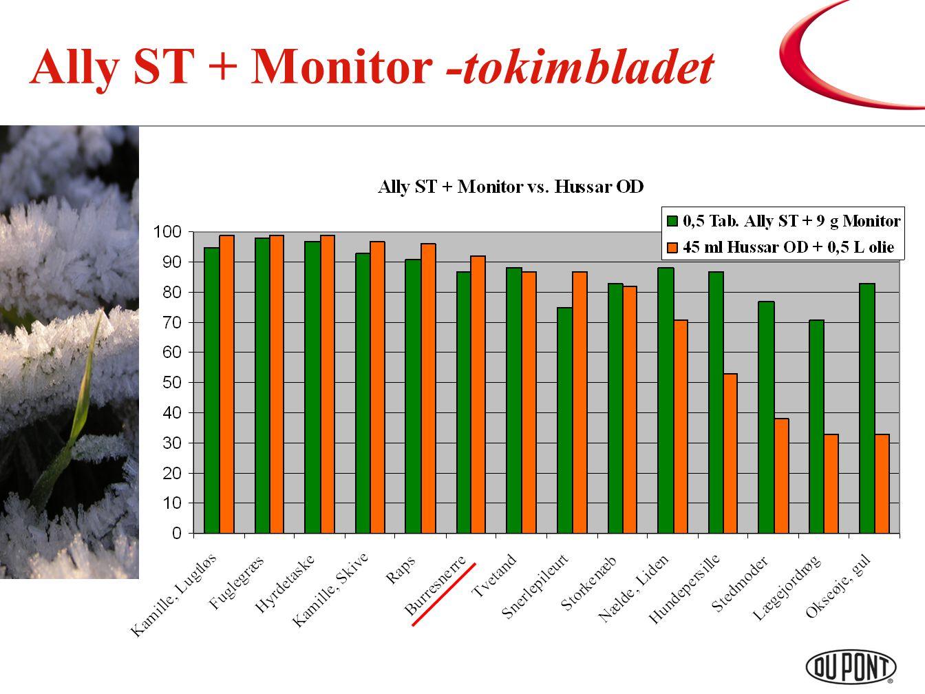 Ally ST + Monitor -tokimbladet