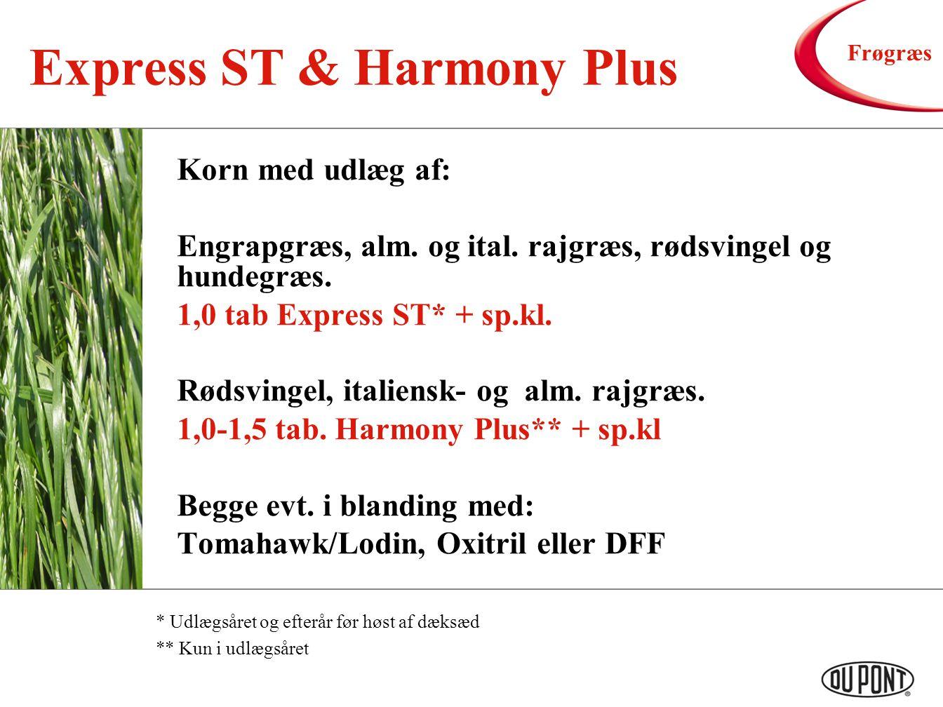 Express ST & Harmony Plus