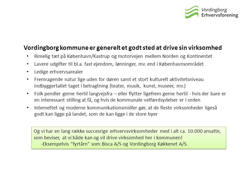 Vordingborg kommune er generelt et godt sted at drive sin virksomhed