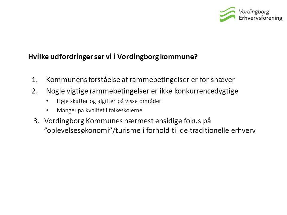 Hvilke udfordringer ser vi i Vordingborg kommune