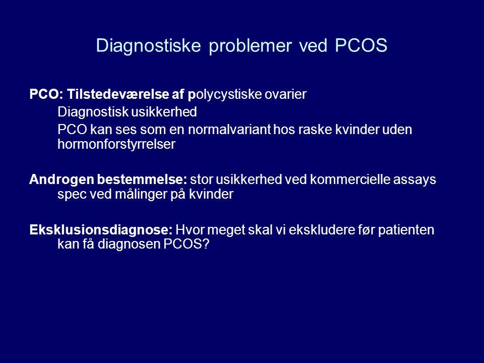 Diagnostiske problemer ved PCOS