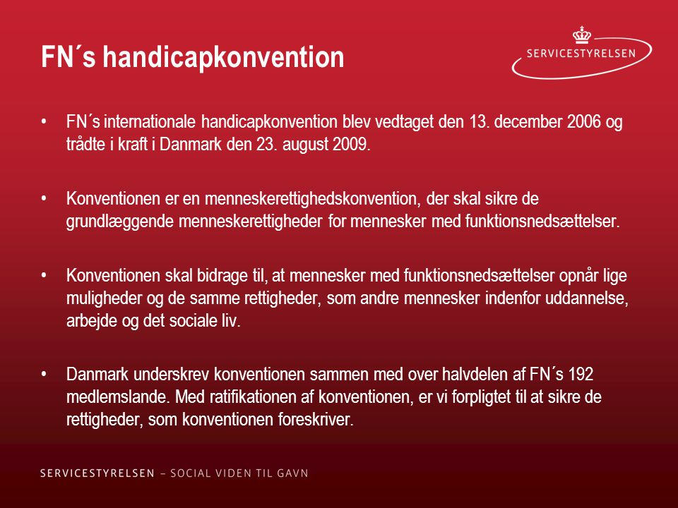 FN´s handicapkonvention