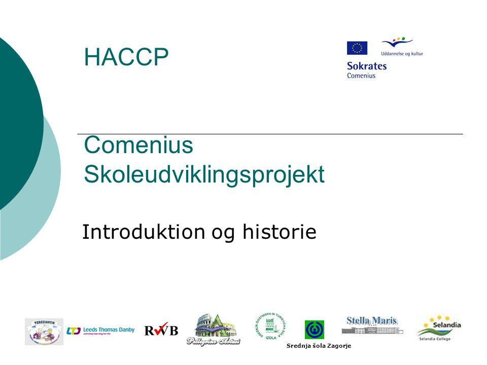 HACCP Comenius Skoleudviklingsprojekt
