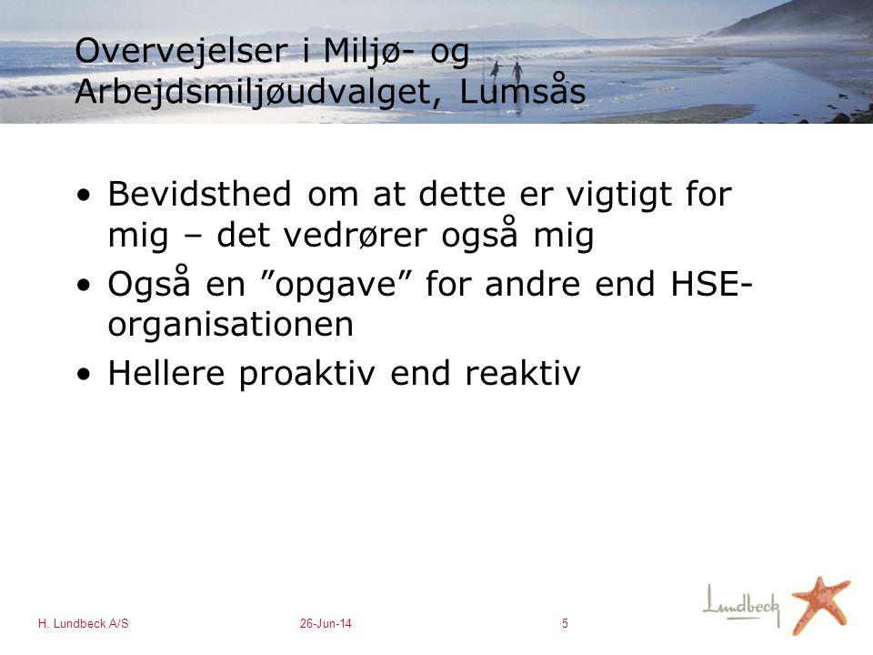 Overvejelser i Miljø- og Arbejdsmiljøudvalget, Lumsås