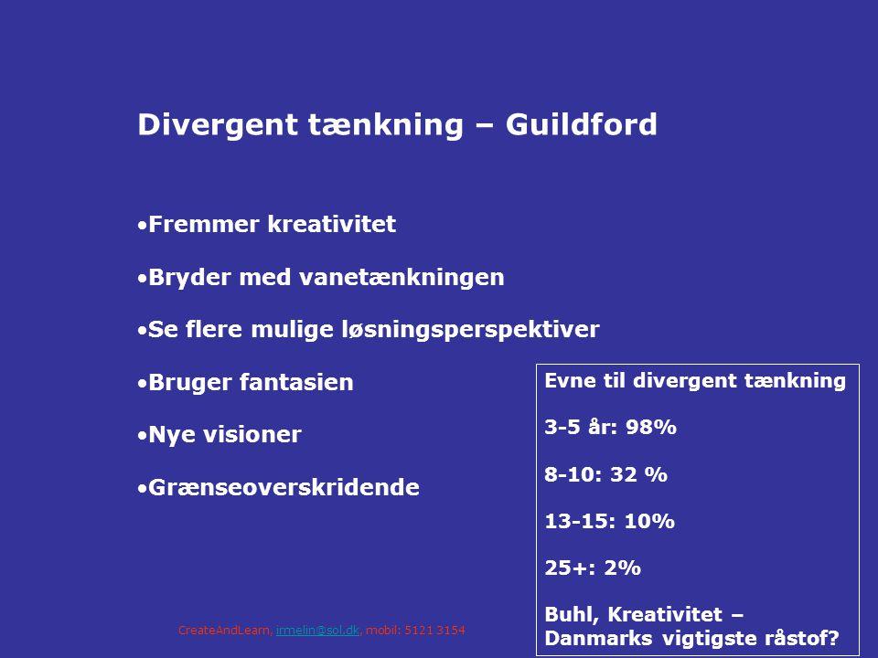 Divergent tænkning – Guildford