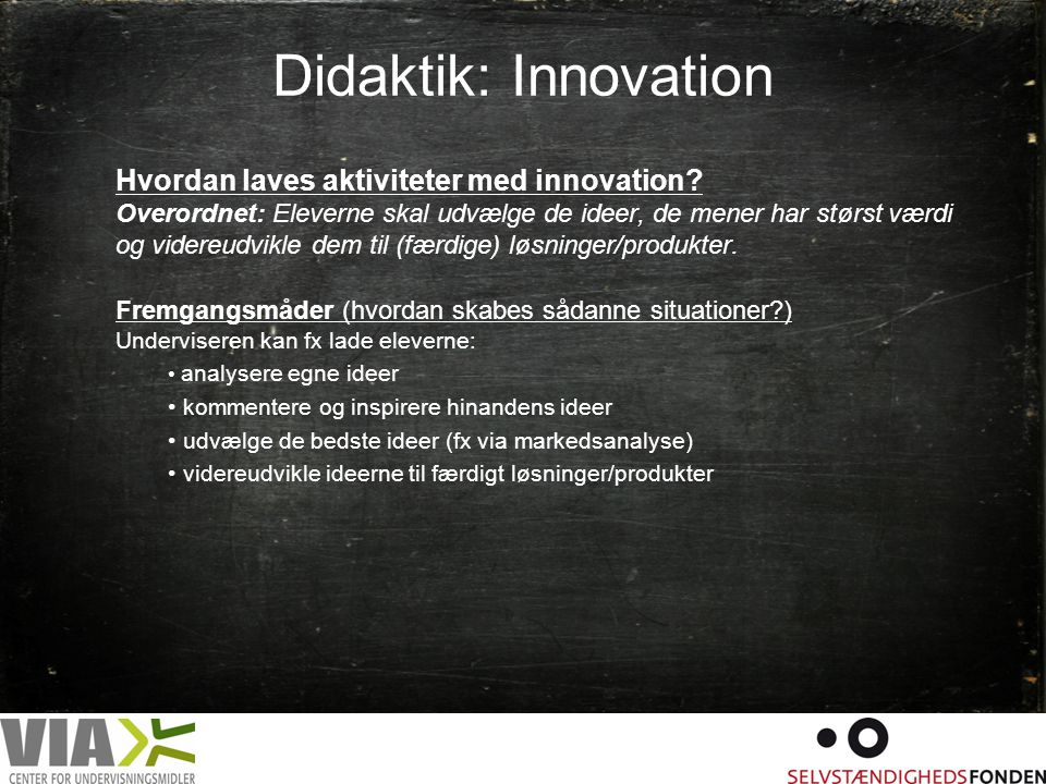 Didaktik: Innovation