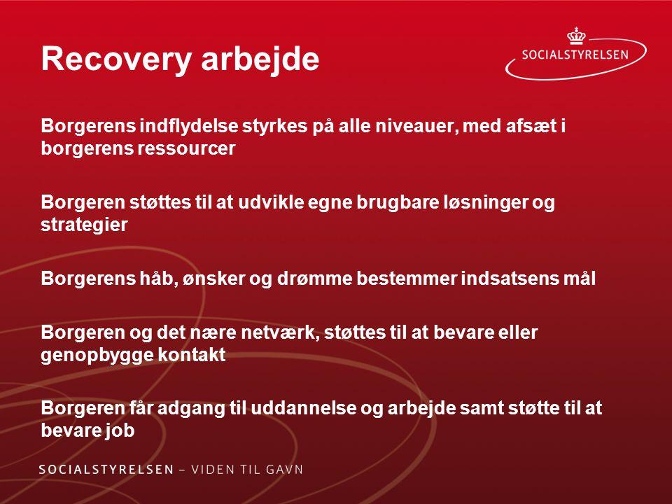 Recovery arbejde
