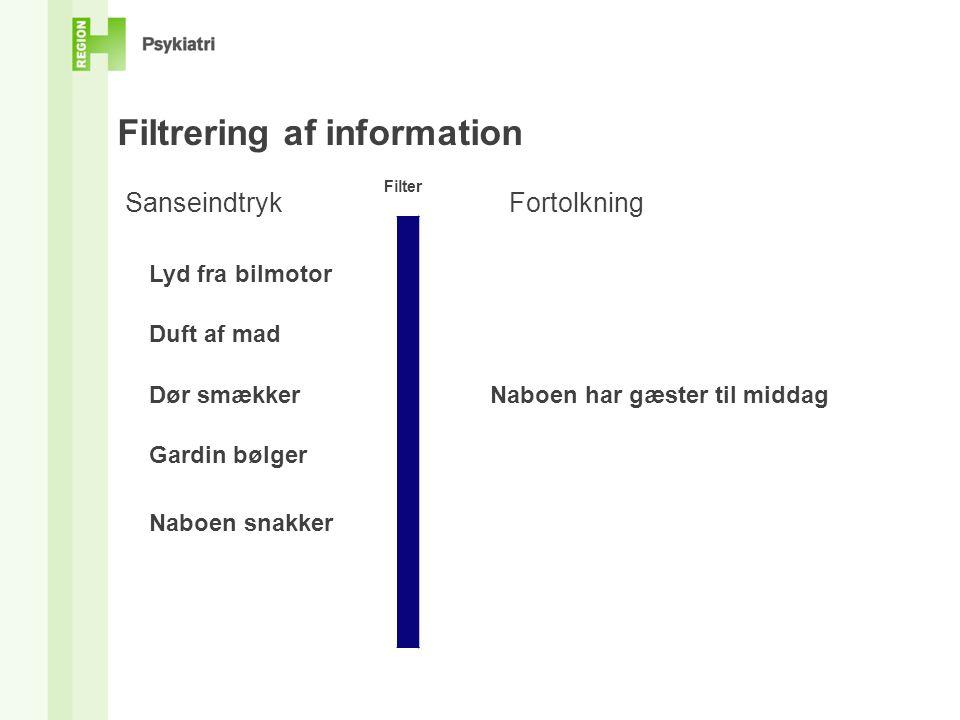 Filtrering af information
