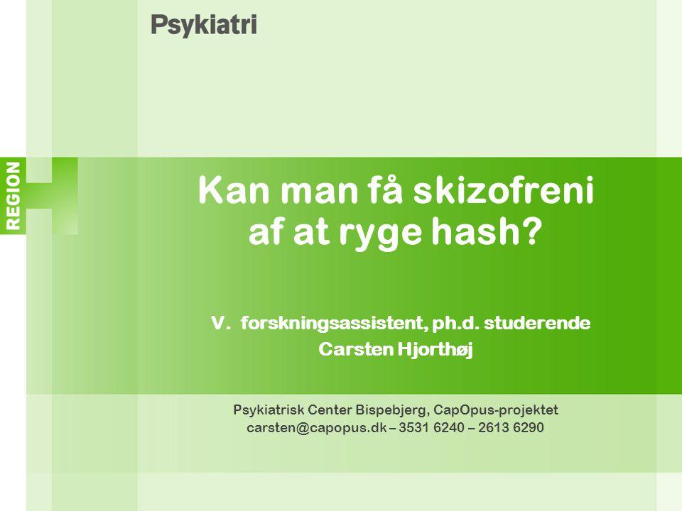 Psykiatrisk Center Bispebjerg, CapOpus-projektet
