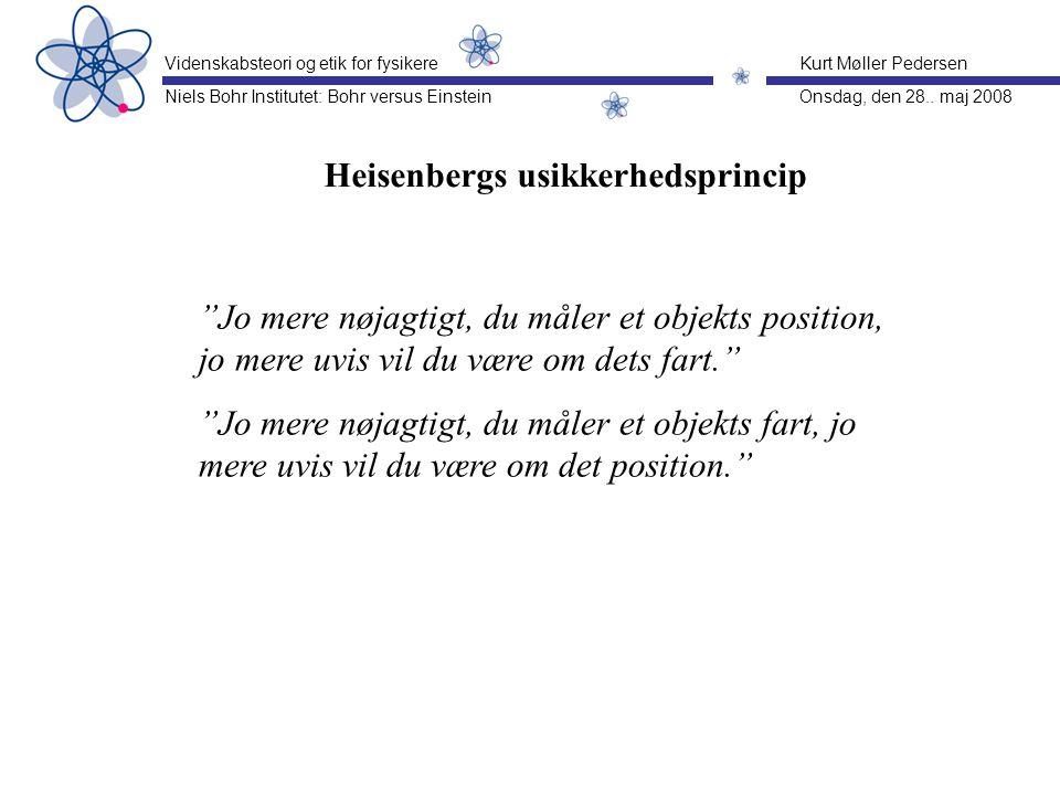 Heisenbergs usikkerhedsprincip