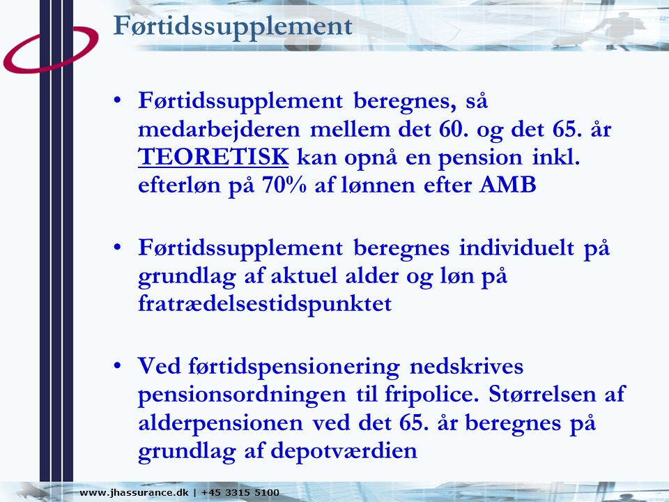 Førtidssupplement