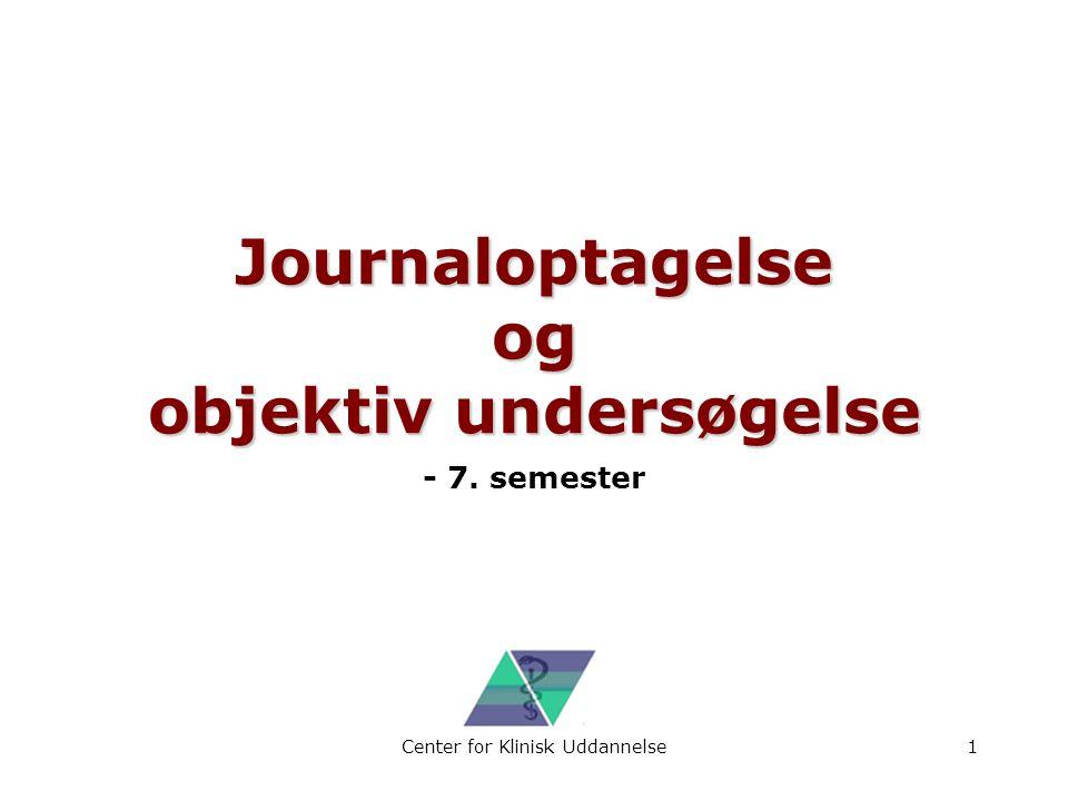 Journaloptagelse og objektiv undersøgelse