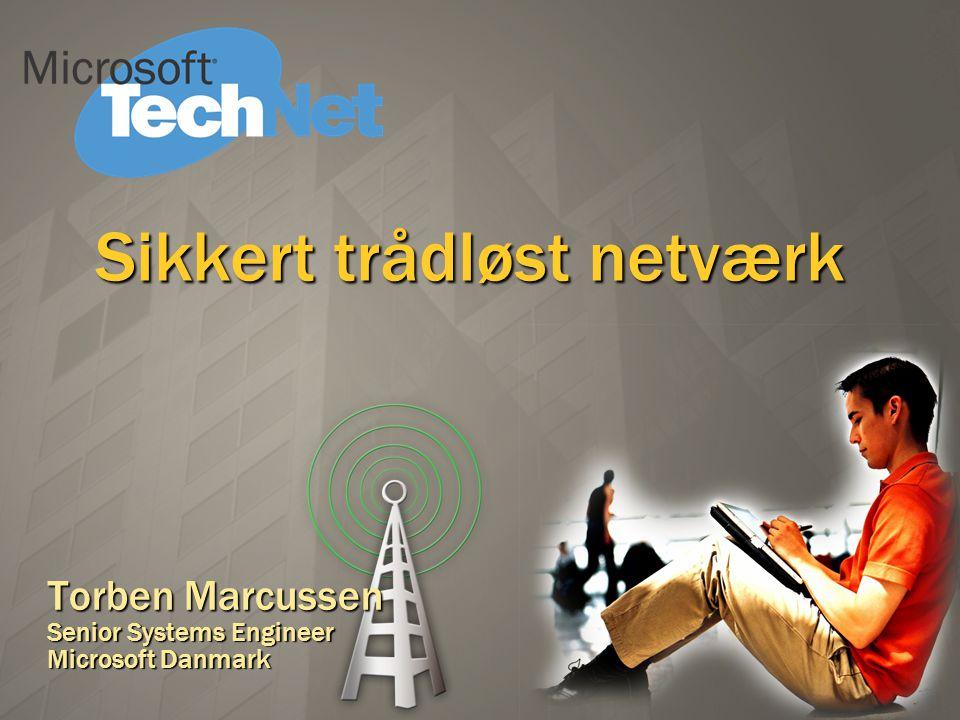 Sikkert trådløst netværk
