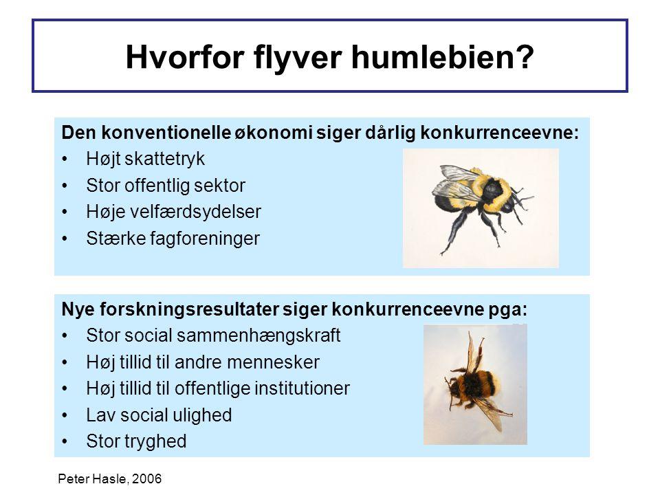 Hvorfor flyver humlebien