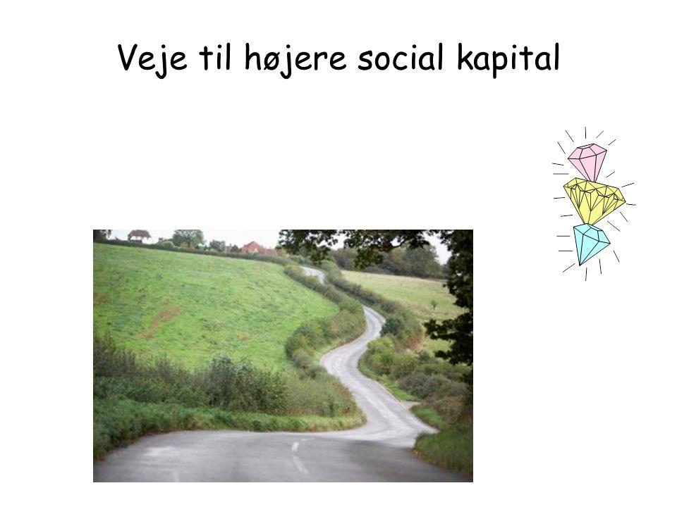 Veje til højere social kapital