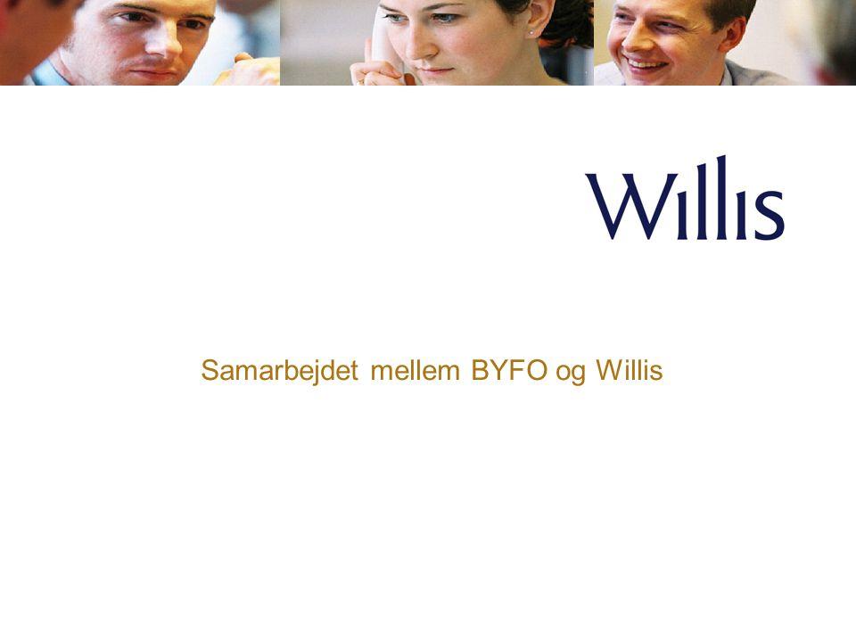 Samarbejdet mellem BYFO og Willis