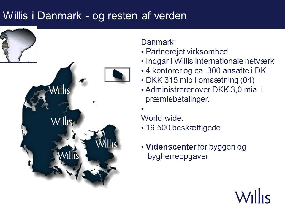 Willis i Danmark - og resten af verden