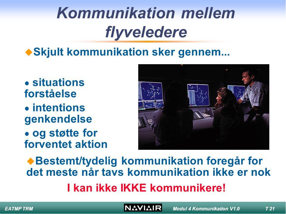Kommunikation mellem flyveledere