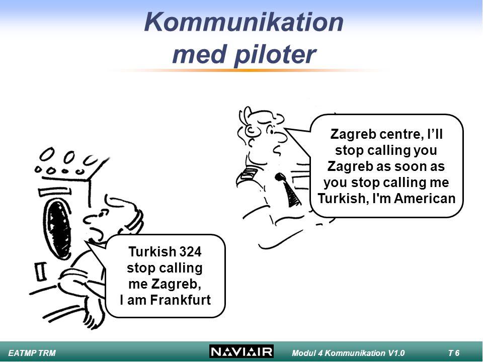 Kommunikation med piloter