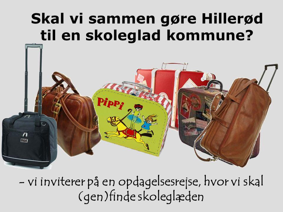 Skal vi sammen gøre Hillerød til en skoleglad kommune