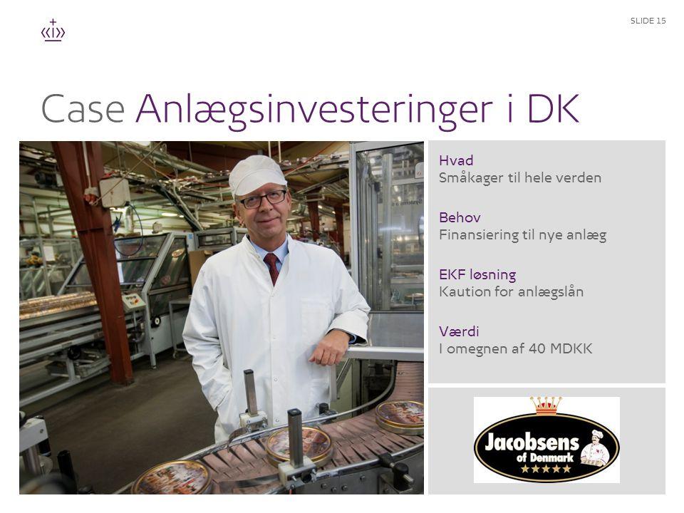 Anlægsinvesteringer i DK