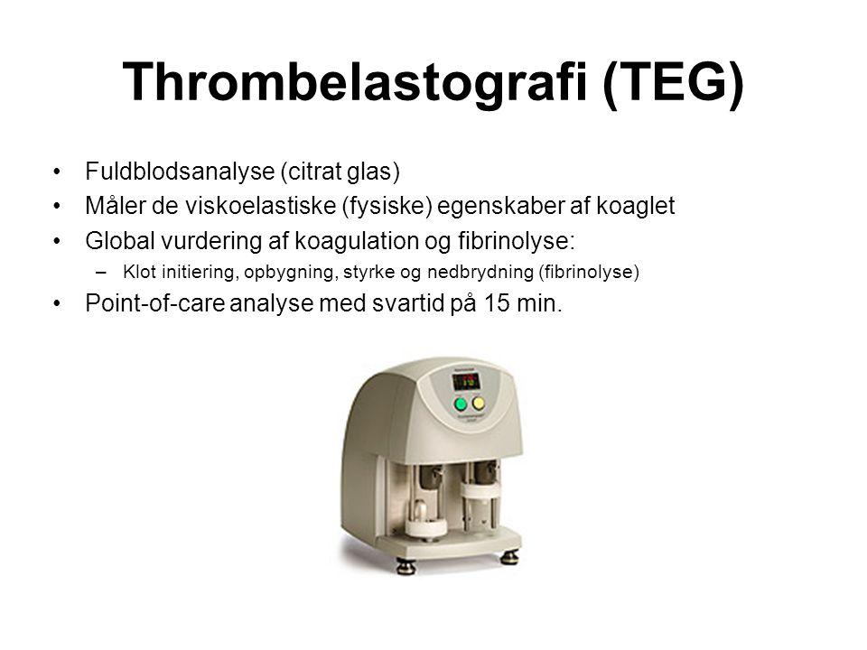 Thrombelastografi (TEG)